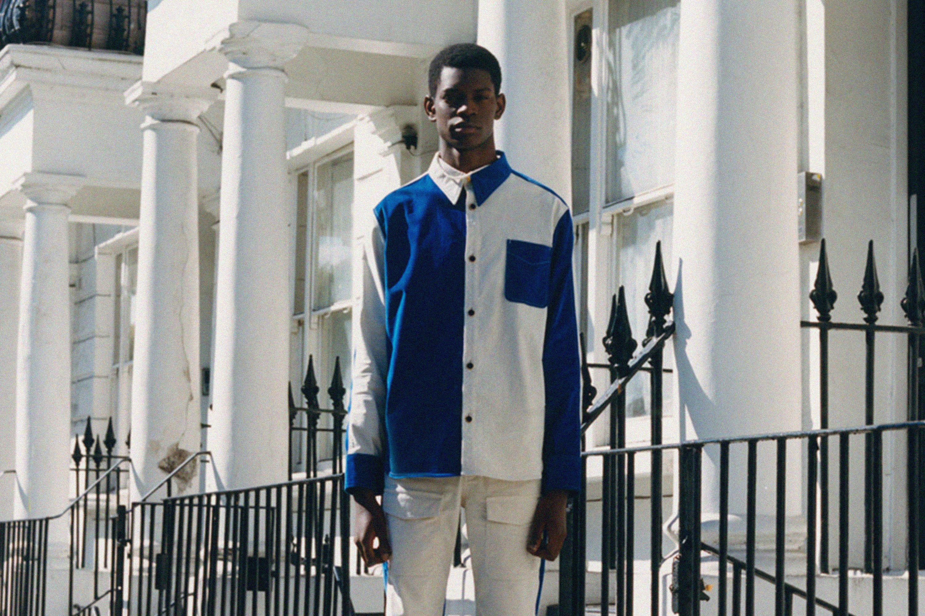 Wales Bonner SS21 Fashion Campaign Editorial