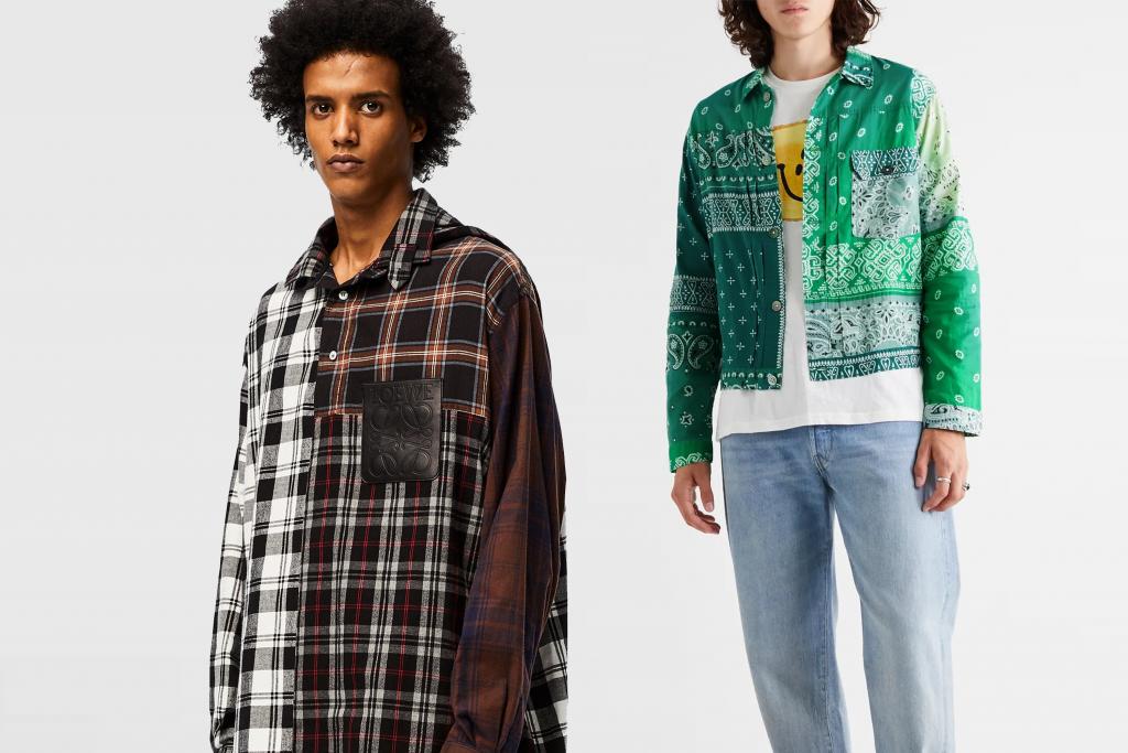 Loewe, kapital, fashion, shirt