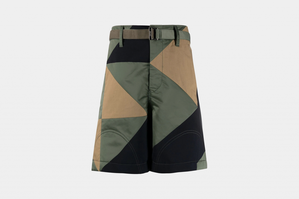 sacai, shorts, fashion, designer