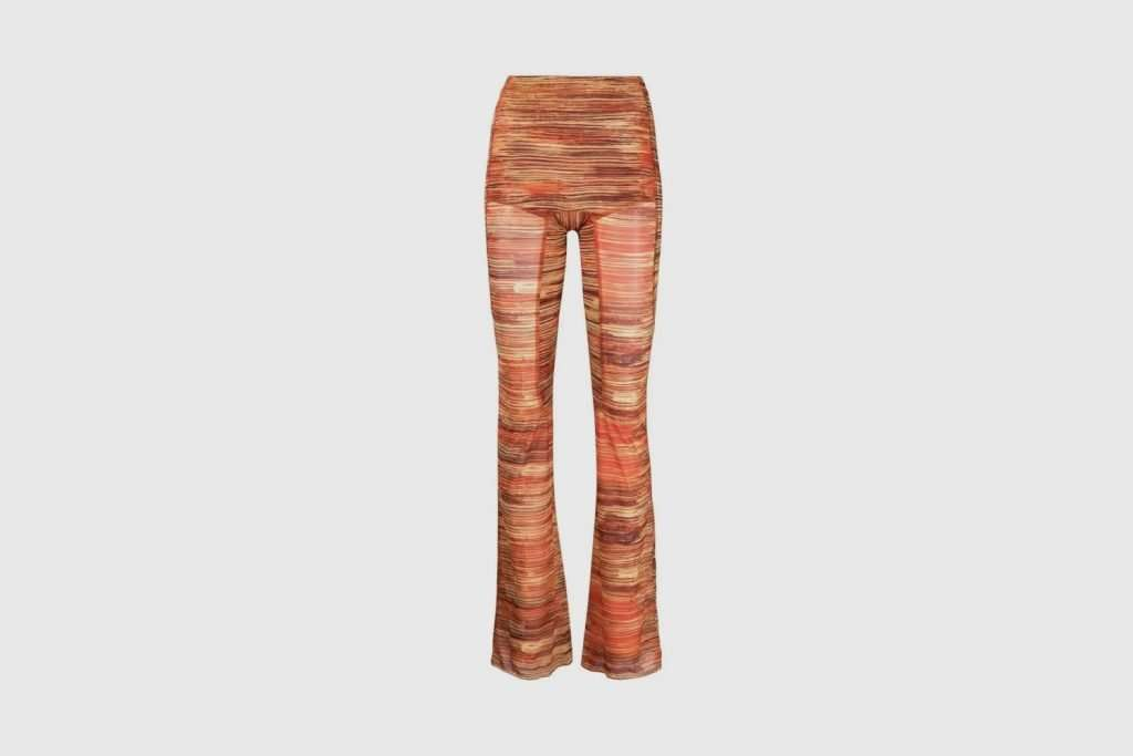 KNWLS flared trousers