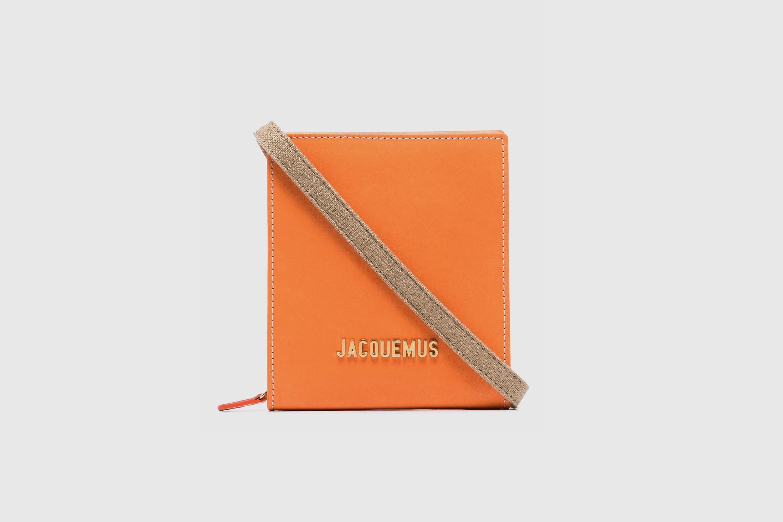 Jacquemus orange messenger bag