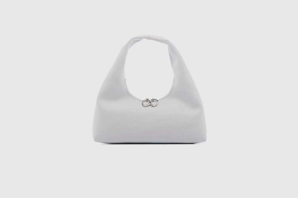 Staud white handbag enzo mini bag