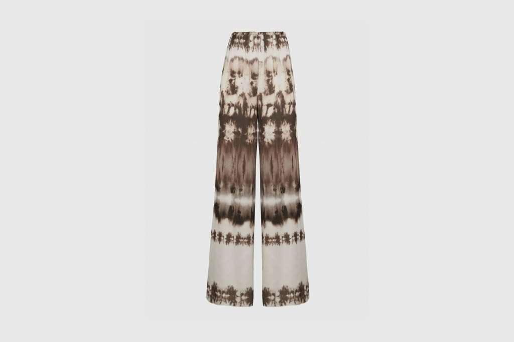 16Arlington Mandrake Tie-Dye Wide Leg Trousers