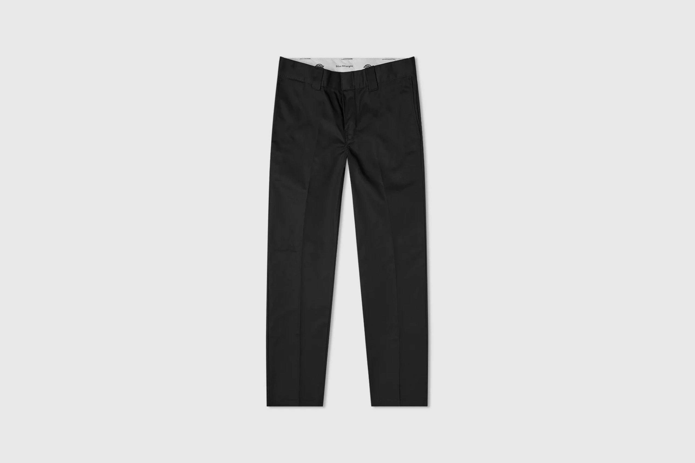 Dickies black straight leg trousers