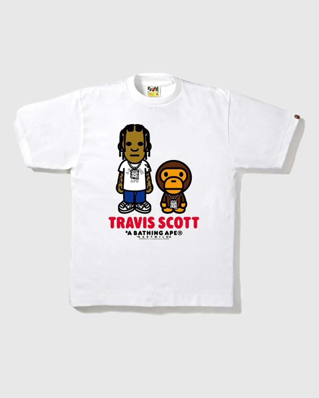 BAPE Travis scott