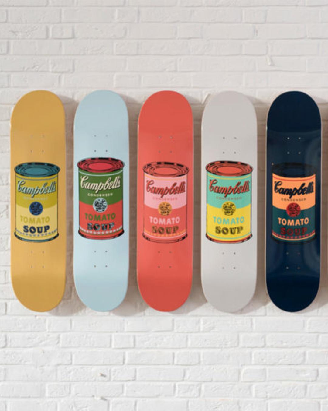 andy warhol skate deck